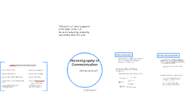 Historiography of Communication