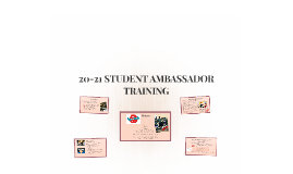 Copy of STUDENT AMBASSADOR TRAINING