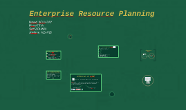 Entreprise Ressource Planning