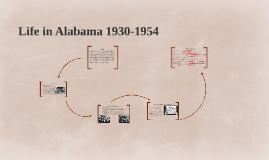 Life in Alabama- 1930-1954