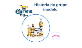 Historia de grupo modelo.
