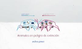 animales extintos en chile