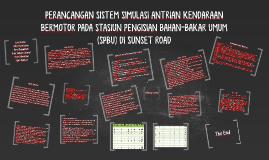 Copy of PERANCANGAN SISTEM SIMULASI ANTRIAN KENDARAAN BERMOTOR PADA