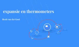 expansie en thermometers