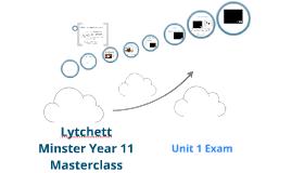 Lytchett Minster Geography Edexcel Yr 11 Masterclass - Water Oceans