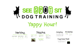Copy of Yappy Hour