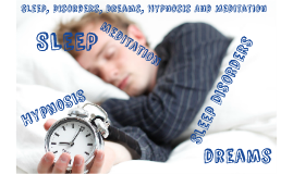 Sleep, Dreams, and Hypnosis