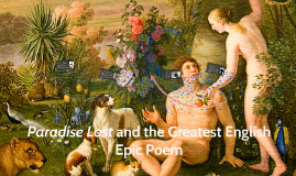 Paradise Lost and the Greatest English Epic Poem