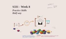 S331- Week 8