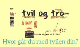 tvil & tro