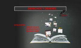 DERECHOS Y DEBERES - CAPITULO ll