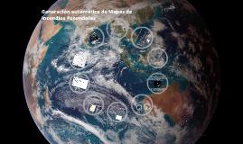 Generación automática de Mapas de Incendios Potenciales