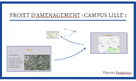 PROJET D'AMENAGEMENT : CAMPUS LILLE 1