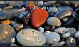 LA STORIA DI DAVIDE E GOLIAT