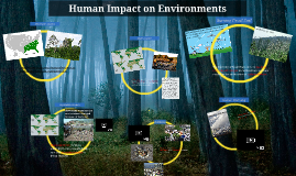 Copy of Human Impact on Environments