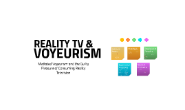 Mediated Voyeurism and the Guilty Pleasure of Consuming Reality Television