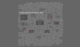 Dan.Materials & Inventory 2016