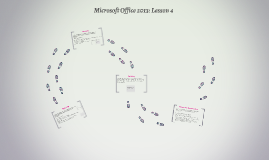 Microsoft Office 2013: Lesson 4