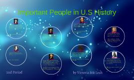 Important U.S. People