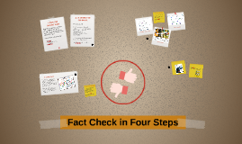 Fact Check in Four Steps