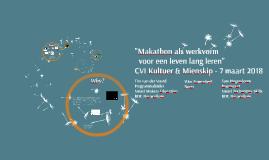 Makathon als werkvorm voor een leven lang leren