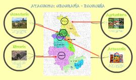 Ayacucho Geografía - Economía