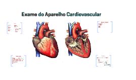 Exame do Aparelho Cardiovascular
