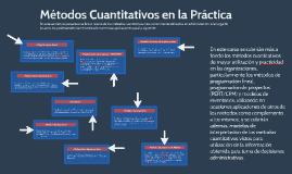 Métodos Cuantitativos en la Práctica
