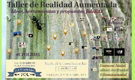 Taller de Realidad Aumentada #CFOL2015