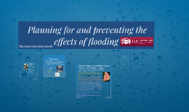 Preventing the effects of flooding