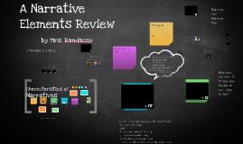 Copy of Narrative Elements