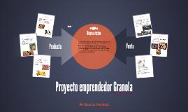 Proyecto emprendedor Granola