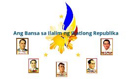 Copy of pilipinas sa ilalim ng ikatlong republika