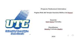 Proyecto Profesional Informático