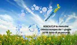 2018-04-20 REACH-CLP rivoluzione chimica europea