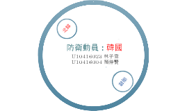 Copy of Copy of 防衛動員 : 韓國