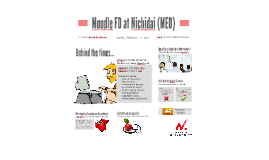 Moodle FD at Nihon University School of Medicine