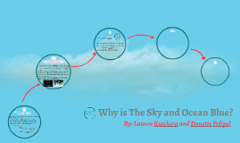 Why is The Sky and Ocean Blue?