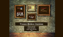 Procesos afectivos: Emociones