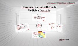 Decoração do consultório dentário