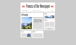 Process of Our Newspaper