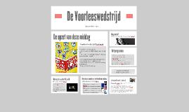 Informatie Voorleeswedstrijd 2014