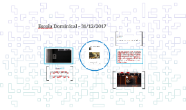 Escola Dominical - 31/12/2017
