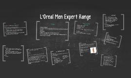 L'Oreal Men Expert Range