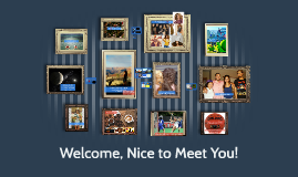 Welcome, Nice to Meet You!