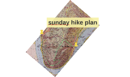 sunday hike plan