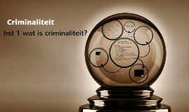 ma2 Criminaliteit hst 1 Wat is criminaliteit