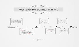 EVOLUCIÓN DEL CONTROL INTERNO