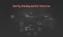 Identity, Branding and User Interaction