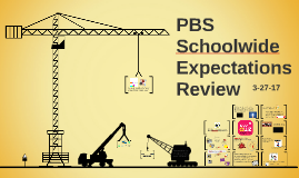 PBS Schoolwide Expectations Review Mar. 27, 2017